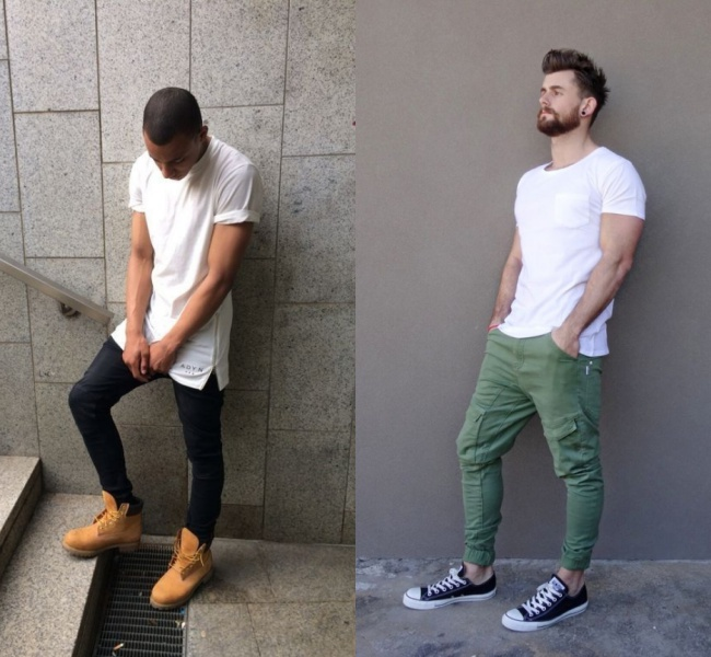 camiseta branca 55