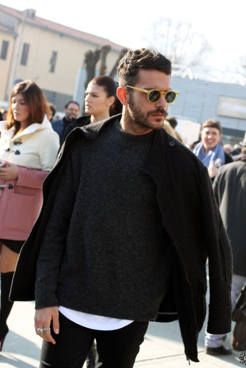 moda masculina - lucas maronesi - oculos redondo 6