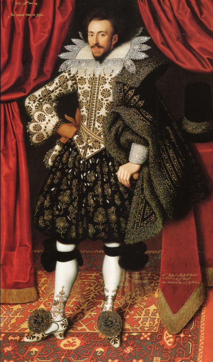 moda masculina - richard sackville