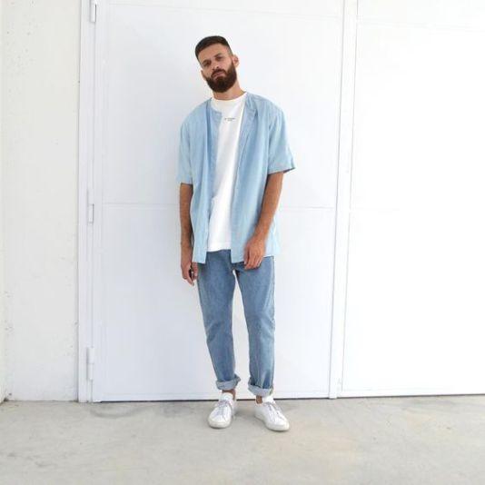 looks masculinos minimalista monocromatico - moda masculina - lucas maronesi 6