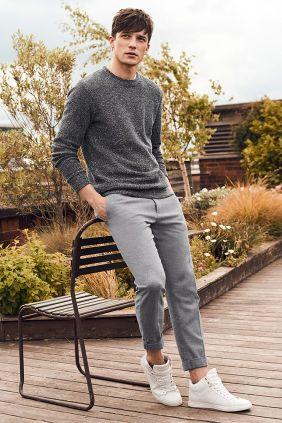 looks masculinos minimalista monocromatico - moda masculina - lucas maronesi