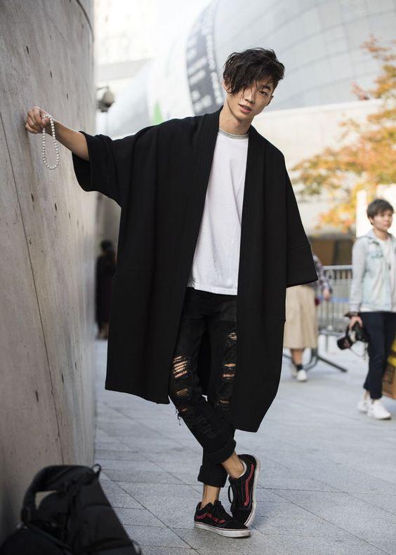 moda masculina - kimono masculina - tendencia - lucas maronesi - 2